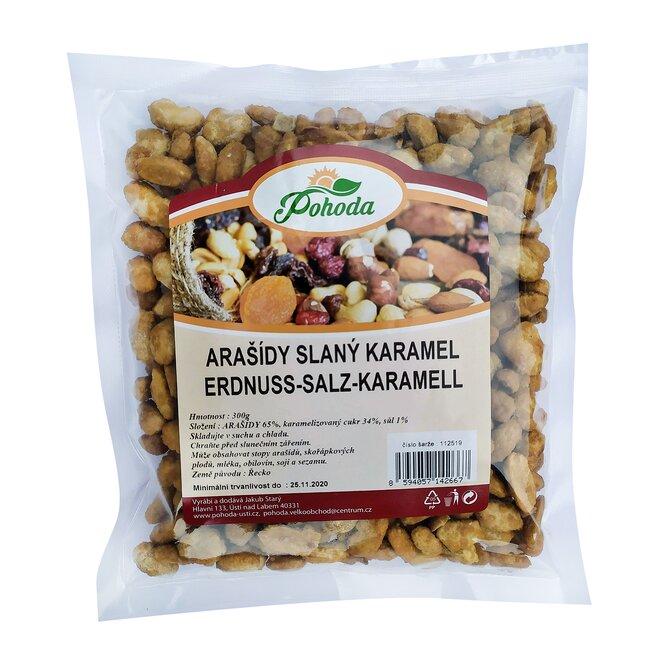 300 g Arašidy - slaný karamel