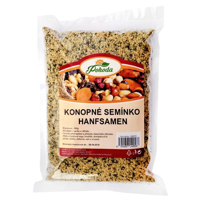 500 g Konopné semienko lúpané