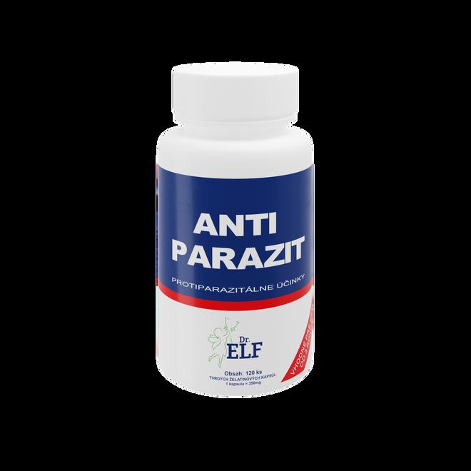 ANTI - PARAZIT - produkt pre očistu organizmu od parazitov.