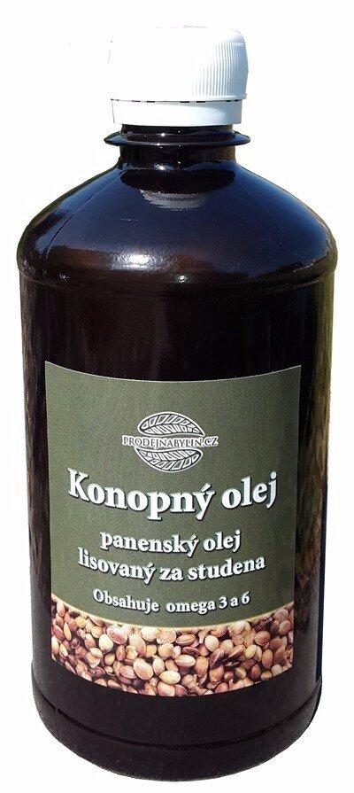 500 ml Konopný olej (panenský, lisovaný za studena)