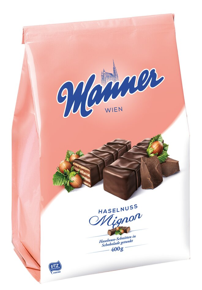 400 g Hazelnut Dark Chocolate Manner