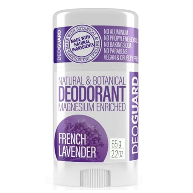 65 g Tuhý prírodný dezodorant s magnéziom (levanduľa)