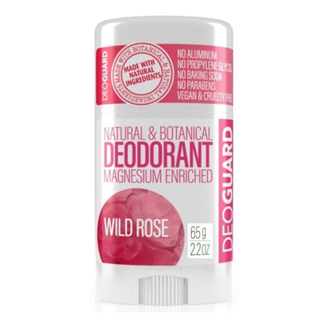 65 g Tuhý prírodný dezodorant s magnéziom (divá ruža)