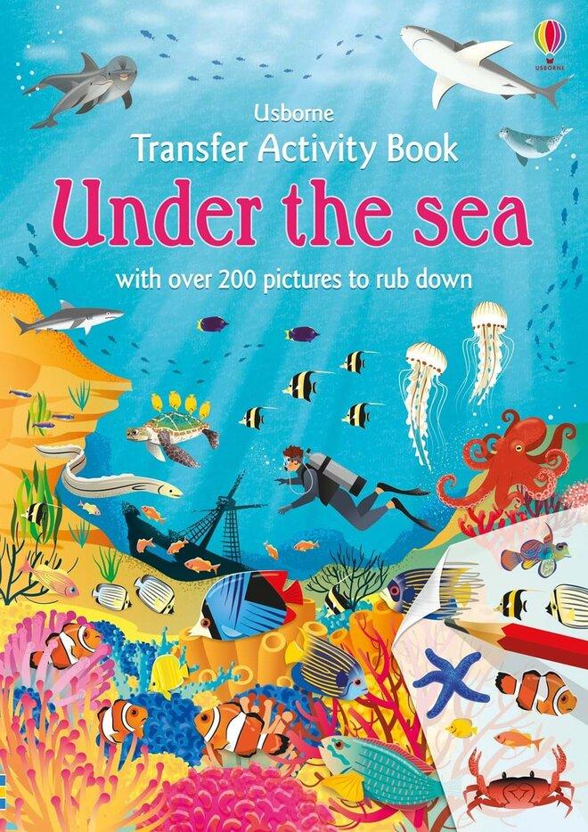 """Detská presúvacia a tetovacia kniha """"Under the Sea"""" (podmorský svet)"""