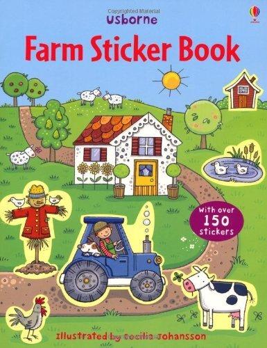 """Detská nalepovacia kniha """"Farm"""" (farma)"""