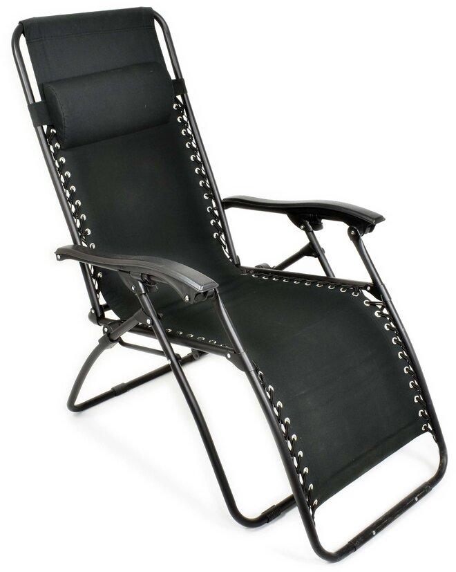 Kempingová stolička Alpine Pro WAYRE (čierna)