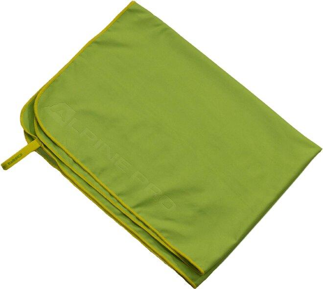 Športový uterák Alpine Pro ELIUDE (zelená)