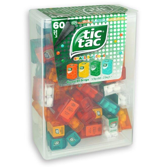 234 g Veľké balenie Tic Tac Mixed (60 malých krabičiek)
