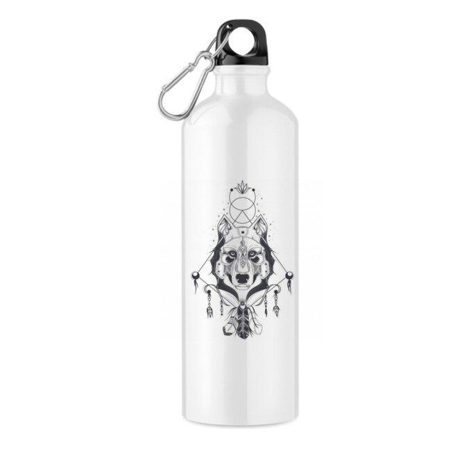 "550 ml Turistická fľaša ""Wolf"""