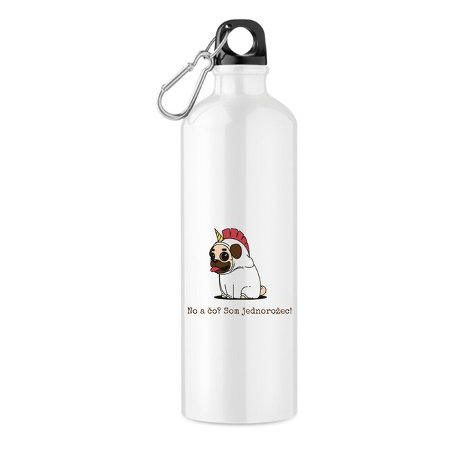 """550 ml Turistická fľaša """"No a čo? Som jednorožec!"""""""