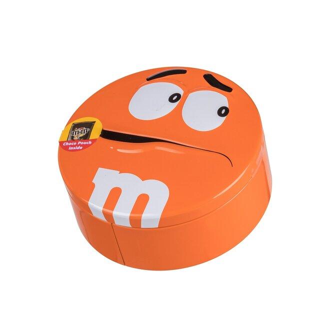 200 g Čokoládové bonbóny M&M's v plechovej dóze (oranžová)