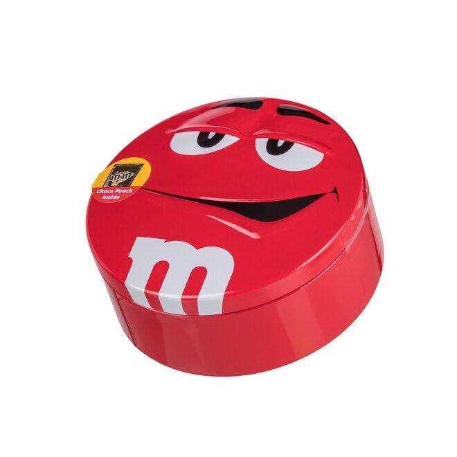 200 g Čokoládové bonbóny M&M's v plechovej dóze (červená)