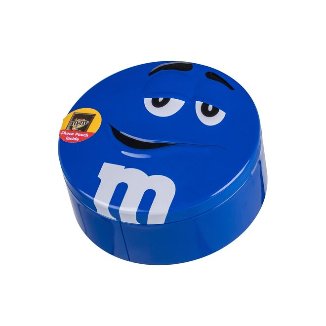 200 g Čokoládové bonbóny M&M's v plechovej dóze (modrá)