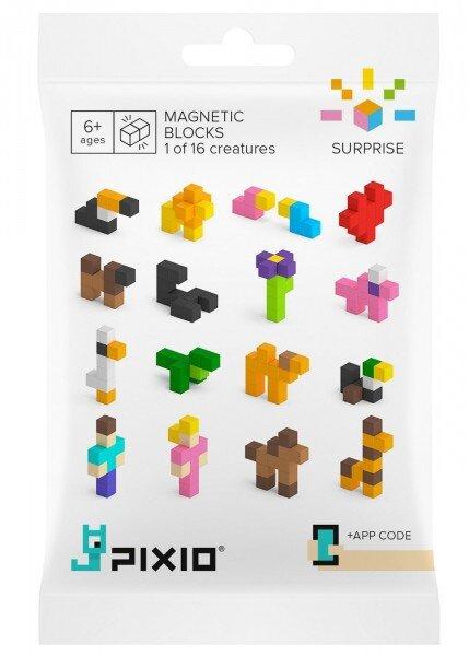 """Magnetická stavebnica Pixio """"Surprise"""" (10 kociek)"""