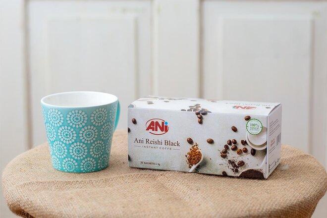 20 x 3 g Instantná káva ANi Reishi Black Instant Coffee
