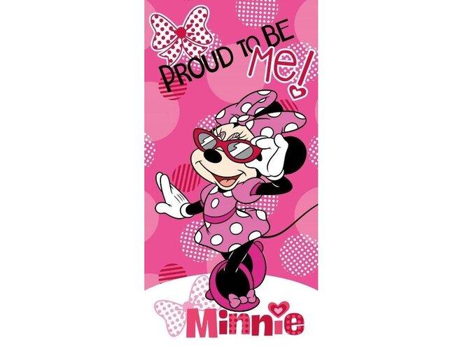 Bavlnená licenčná osuška (Minnie 039)