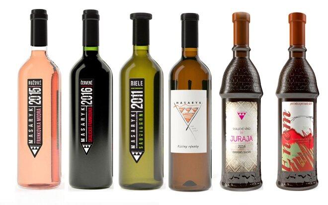 6 x Mix 6 druhov vín