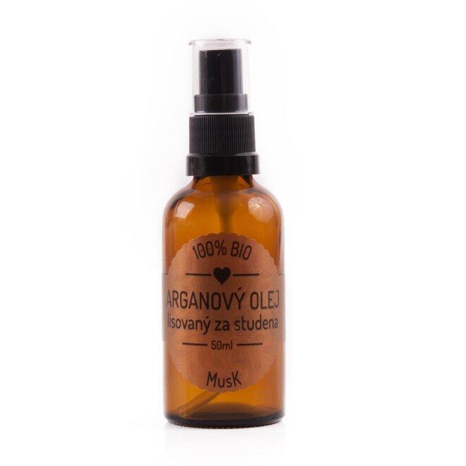 50 ml Prírodný 100% BIO Olej lisovaný za studena (arganový)