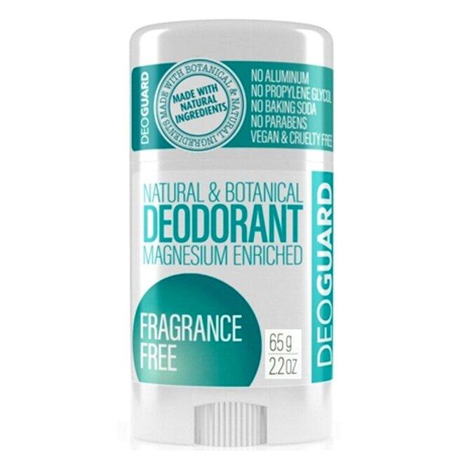 65 g Tuhý prírodný dezodorant s magnéziom (bez vône)