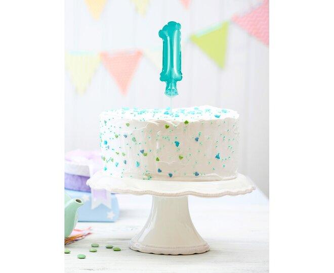 Balón na tortu číslo 1 - Veľkosť 13 cm