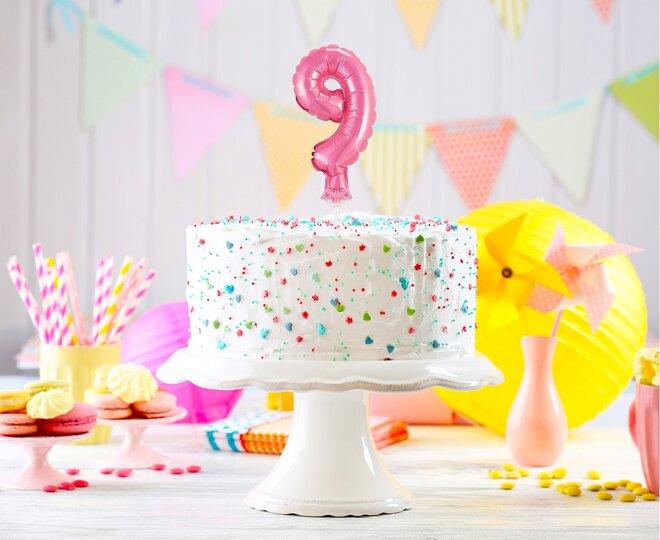 Balón na tortu číslo 9 - Veľkosť 13 cm