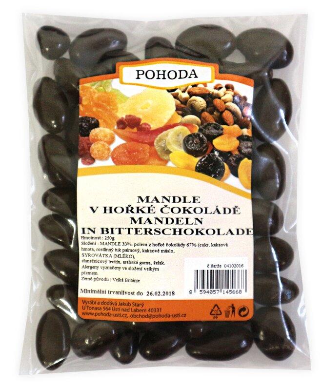 250 g Mandle v horkej čokoláde