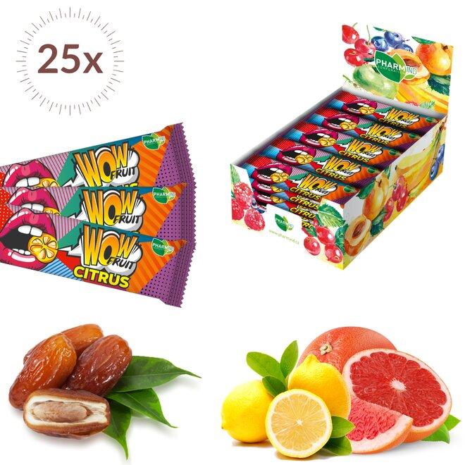 25×30 g Wow Fruit Citrus