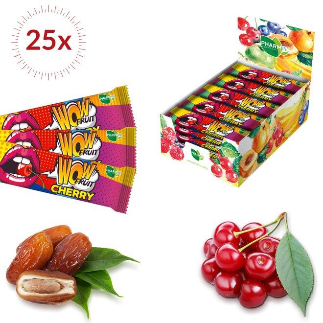 25×30 g Wow Fruit Cherry