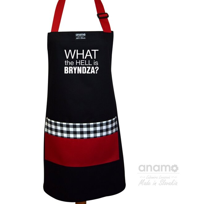 "Pánska zástera ""What the hell is bryndza"""