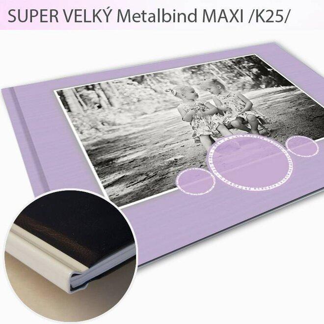 Fotokniha vo formáte A3 Metalbind Maxi K25 (104 strán)