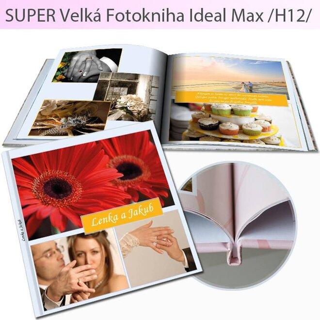 Fotokniha vo formáte 30 x 30 cm Ideal H12 (104 strán)