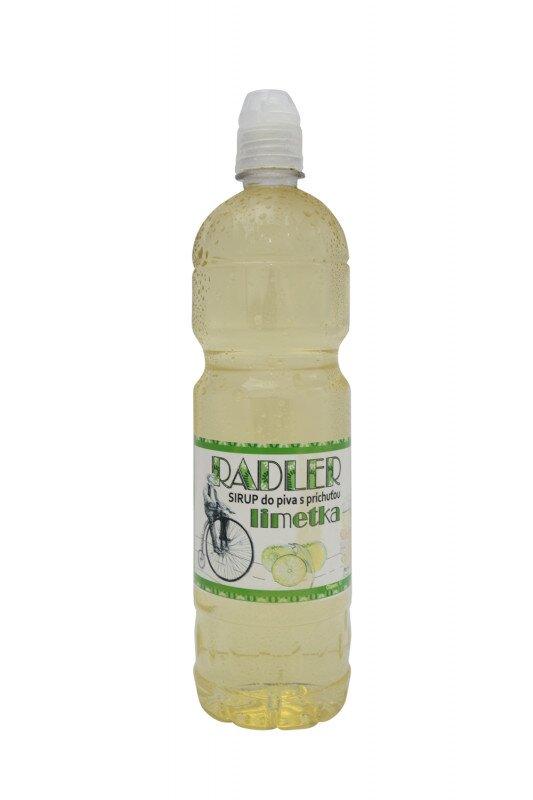 1 l Sirup do piva RADLER slovenskej výroby (limetka)