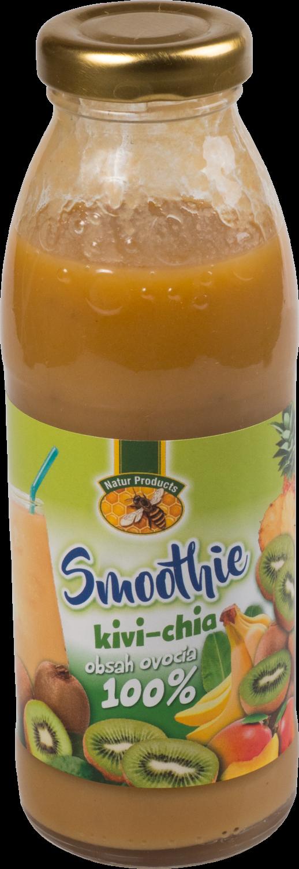 300 ml Smoothie slovenskej výroby (kiwi + chia)