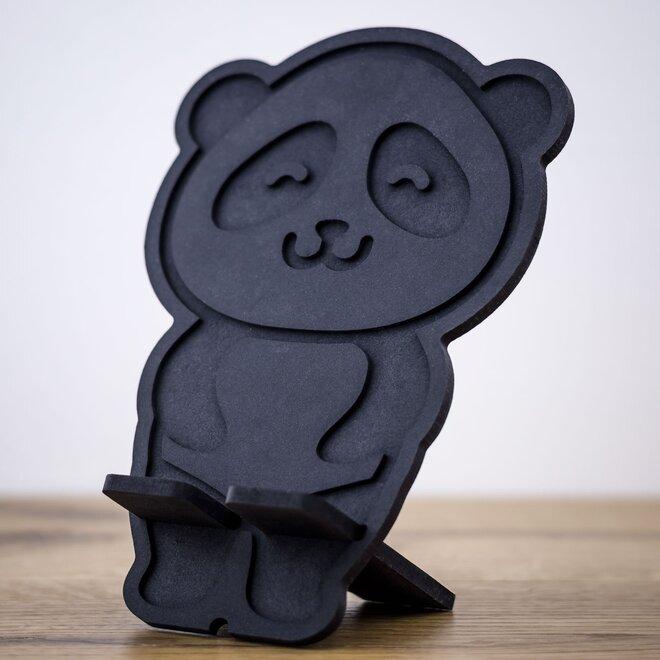 Stojan na mobil (čierna panda)