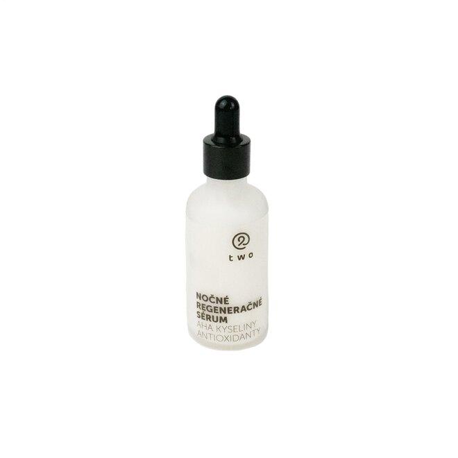 50 ml Prírodné nočné regeneračné sérum s AHA kyselinami a antioxidantmi