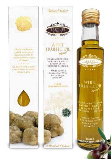 100 ml Extra panenský olivový olej s bielou hľuzovkou