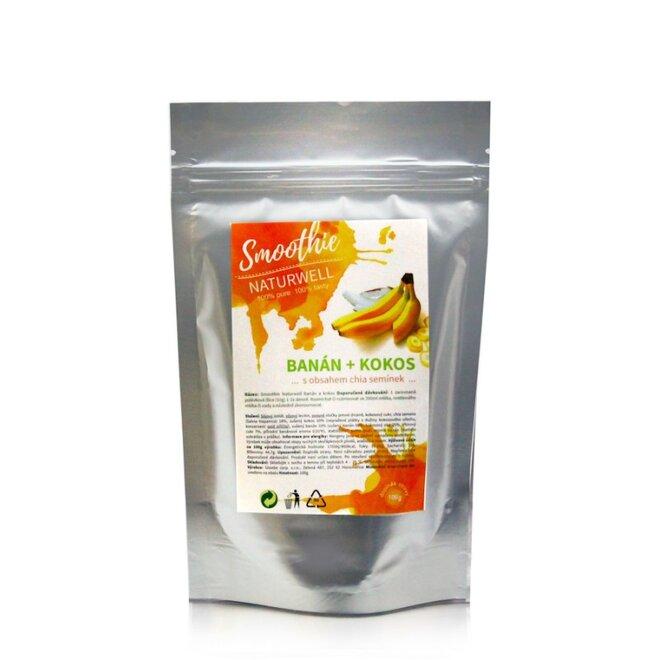 100 g Smoothie Naturwell (Banán a kokos)