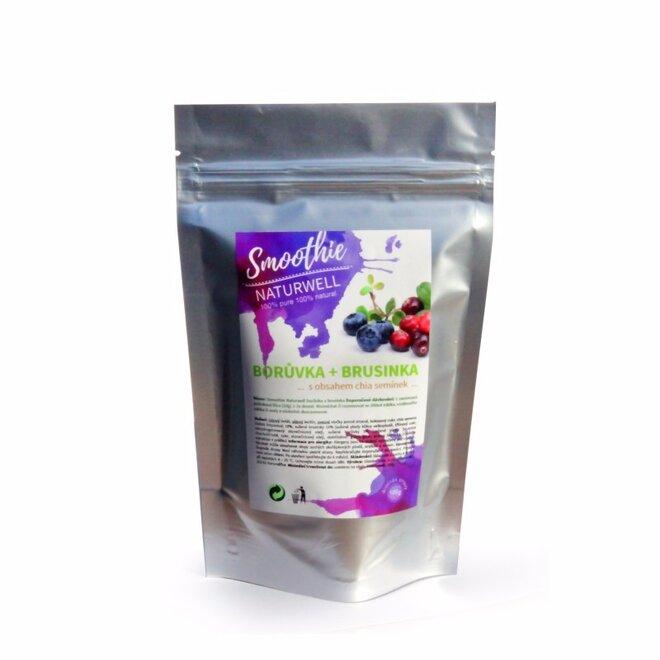 100 g Smoothie Naturwell (Čučoriedka a brusnica)