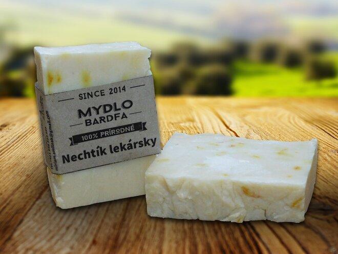 90 g Prírodné mydlo (nechtík + ľubovníkový olej)