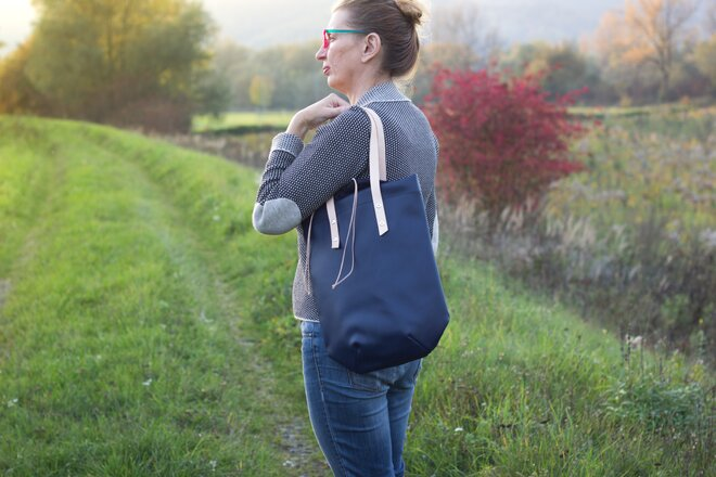 Mestká shopper kabelka City Jungle slovenského výrobcu LuLo bags