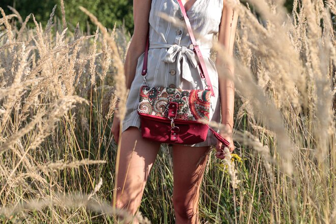 Dámska malá kabelka Tapiseri slovenského výrobcu Lulo bags