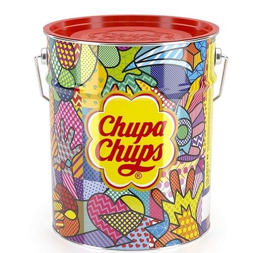 150 ks Veľké balenie Chupa Chups v plechovke (1,8 kg)