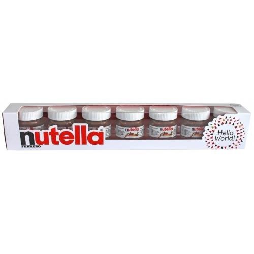7 × 30 g Balenie Nutella Mini (210 g)