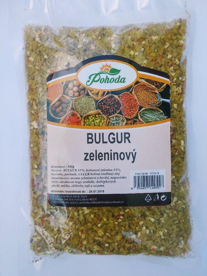 500 g Bulgur (zeleninový)