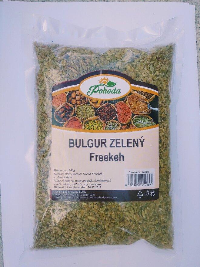 500 g Bulgur (zelený)