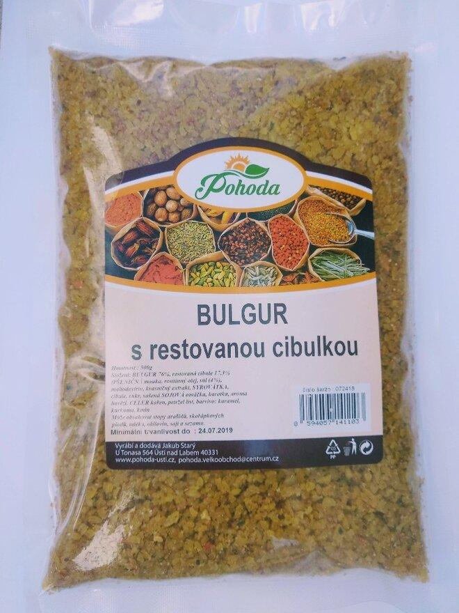 500 g Bulgur (s restovanou cibuľkou)
