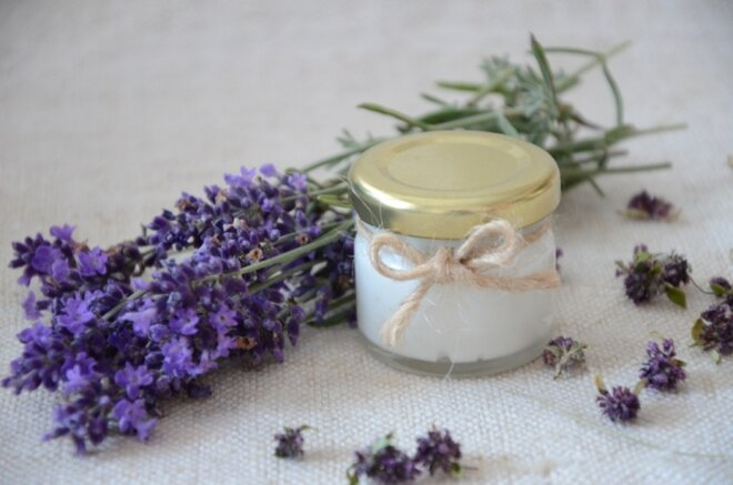 30 ml Prírodná krémová voňavka a dezodorant 2v1 (levanduľa s materinou dúškou)
