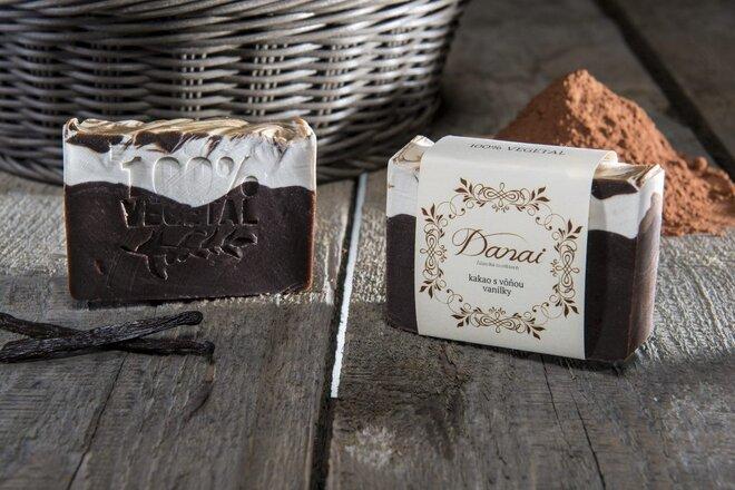 Mydlo - kakao s vôňou vanilky