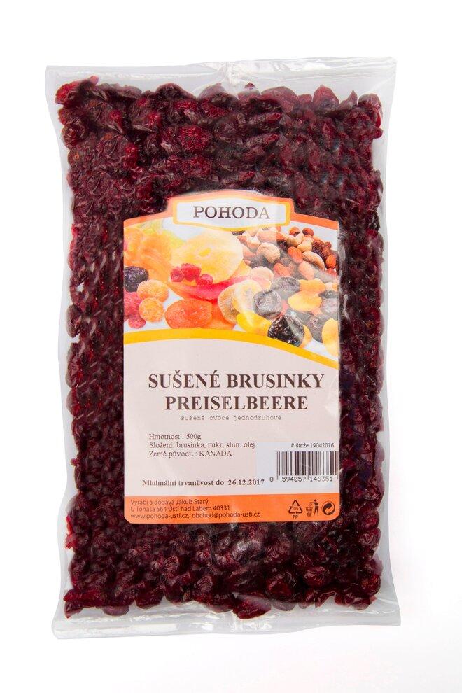 500 g Brusnice (kľukva veľkoplodá)