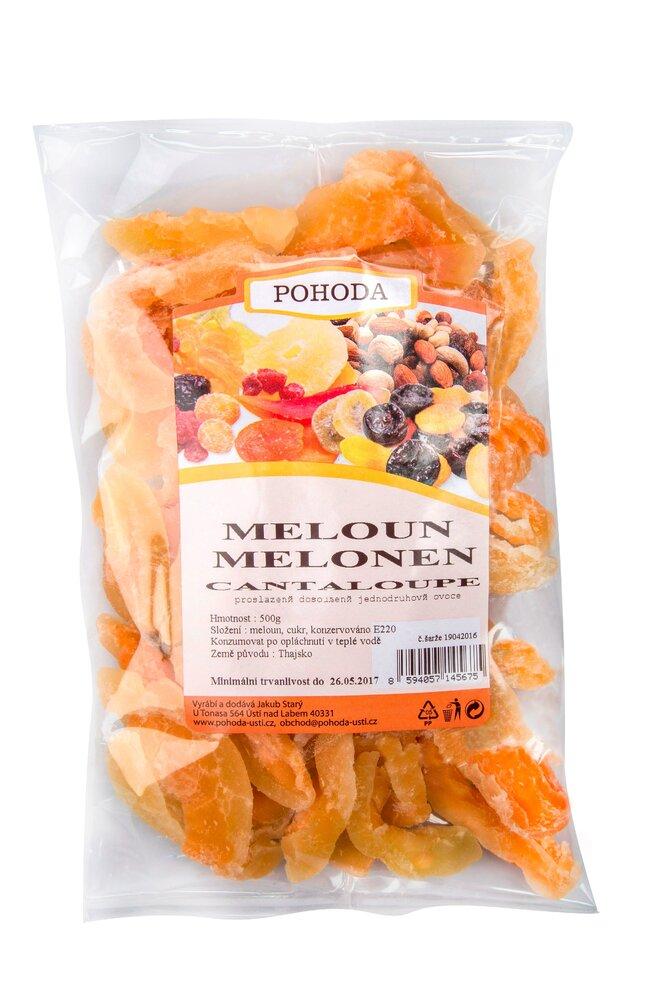 500 g Melón cantaloupe